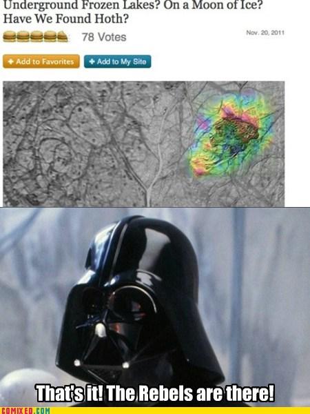 science star wars thats-no-moon vader - 5467080960