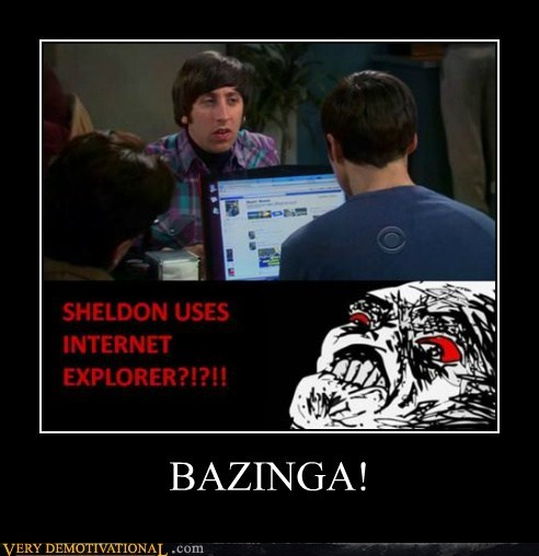 big bang theory idiots internet explorer sheldon wtf - 5467220992