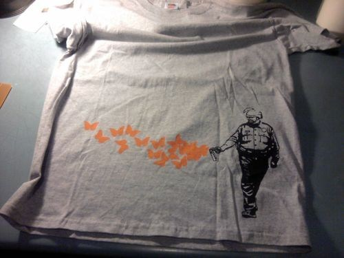 Casually Butterfly Everyt,Crispus Attackus,Occupy Torso,Occupy Wall Street Merch,Pepper Spray Cop