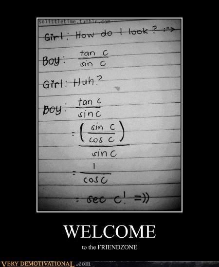cosine friendzone Hall of Fame hilarious math sine welcome - 5467525888