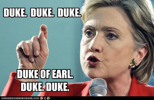 duke of earl Hillary Clinton karaoke political politics Pundit Kitchen