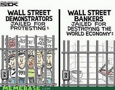 bankers evil greedy Occupy Wall Street Wall Street - 5467586304