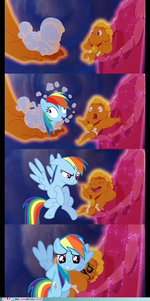 best dad ever best of week comic comics Hercules heres-your-pony rainbow dash - 5467635968