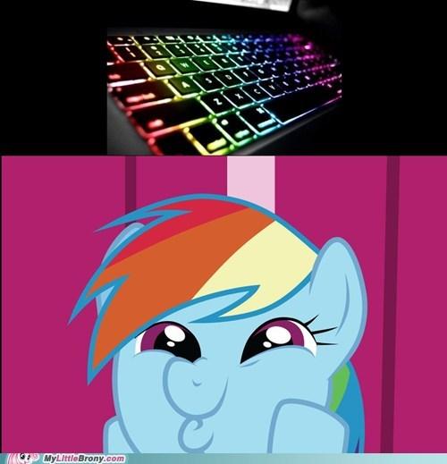 20 Percent Cooler rainbow dash rainbow dashing she approves - 5468033280