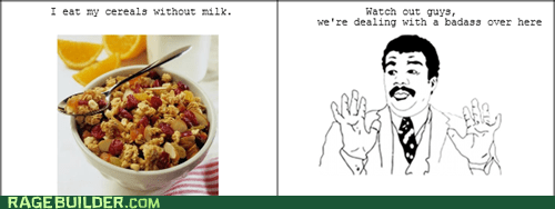 cereal,milk,Rage Comics,watch out guys