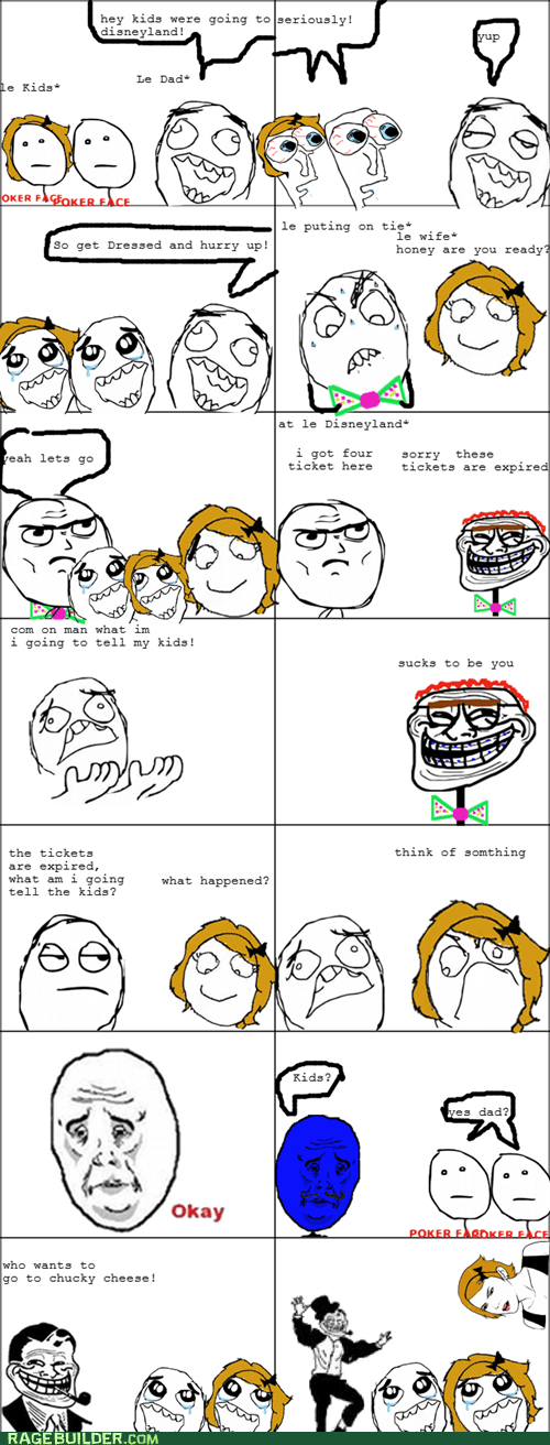 disneyland expired Rage Comics tickets