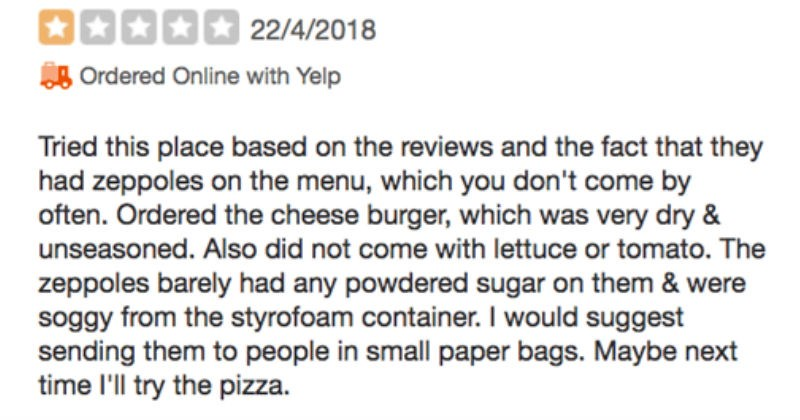 reviews customer service crazy freakout restaurant ridiculous - 5468165