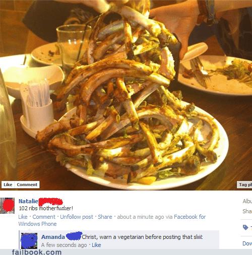 bones,food,meat,ribs,vegetarian