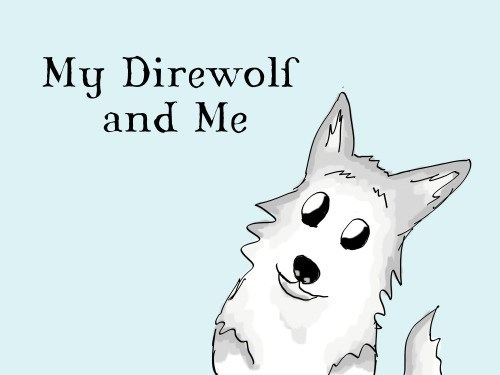 nymeria,Game of Thrones,arya stark,season 5,direwolf