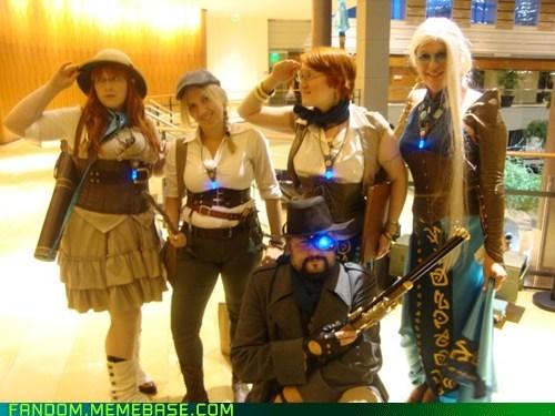 cosplay Steampunk - 5468260608