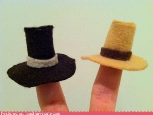 around the interwebs hats thanksgiving - 5468365568