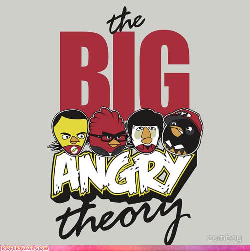 angry birds art cool game Hall of Fame the big bang theory TV - 5468386816