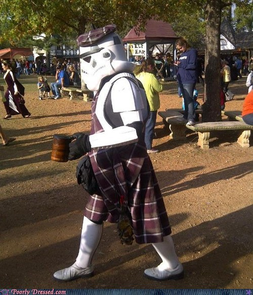 Hall of Fame kilts retirement star wars stormtrooper - 5468737536