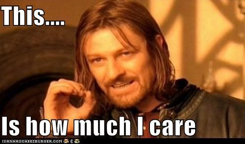 Boromir care Lord of the Rings sean bean this zero