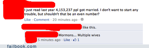 marriage,mormons,Statistics