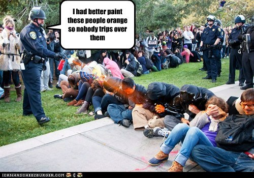 I had better paint these people orange so nobody trips over them