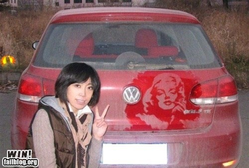 art,car,celeb,dirt,Hall of Fame,marilyn monroe,portrait
