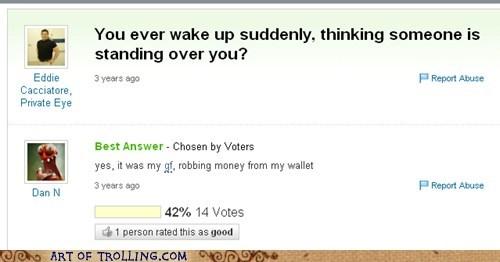 creepy gf sleeping theft Yahoo Answer Fails - 5470454272