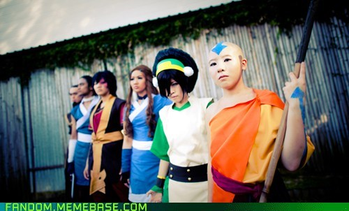 Avatar the Last Airbender cartoons cosplay - 5471419392