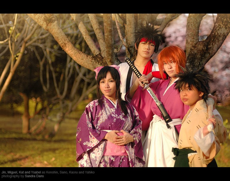 anime cosplay manga Rurouni Kenshin - 5471480064