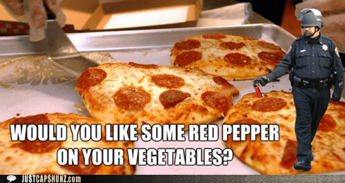 dammit congress why do you suck so much john pike pepper spray pizza pizza is a vegetable wtf pizza is not a vegetable - 5471487488