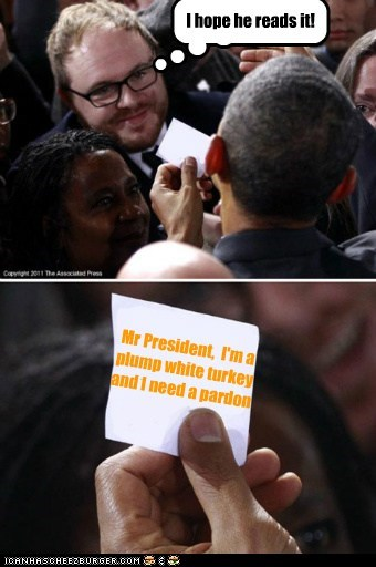 barack obama note political pictures thanksgiving - 5472085504