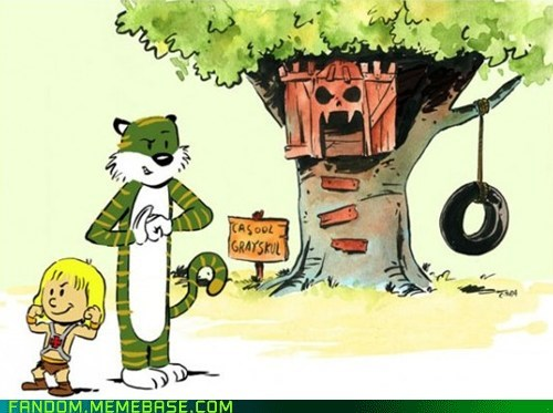 calvin and hobbes cute Fan Art he man - 5472199424