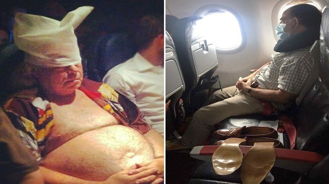 photos airline funny airplane passengers - 5472261