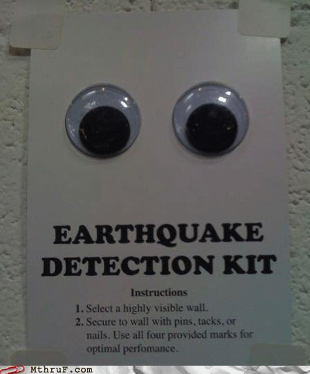 disaster preparedness earthquake detection googly eyes - 5472299264