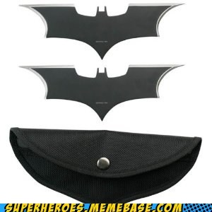 Need a Christmas Gift? Why Not Batarangs?