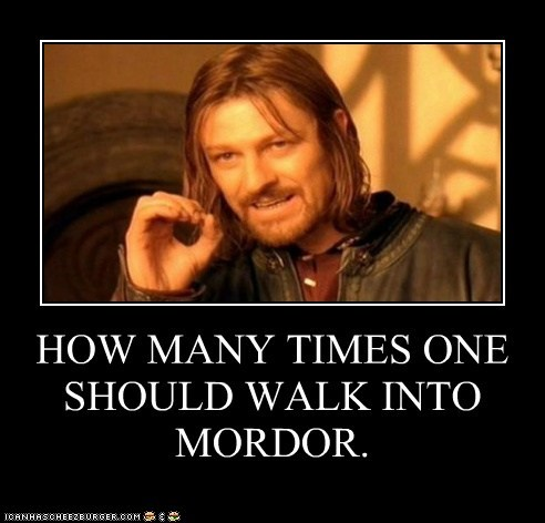 Boromir Lord of the Rings mordor one does not sean bean zero - 5472457728