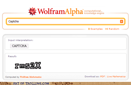 captcha,did-anyone-else-read-im-too-sexy,wolfram alpha
