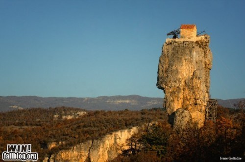 architecture,church,clifftop retreat,heights,isolated chapel,isolation,monastery,monk