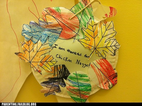 craft food holiday kids art Parenting Fail thankful thanksgiving Turkey
