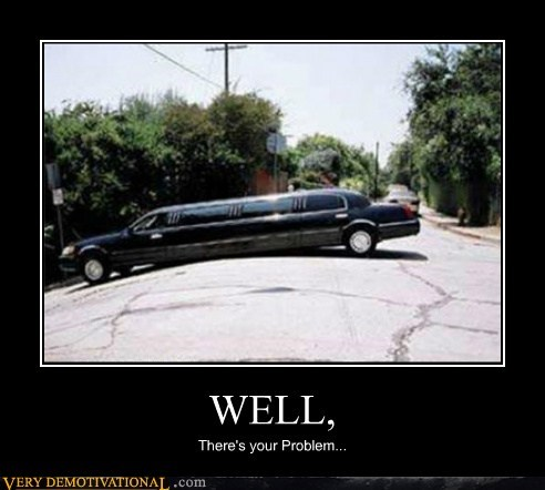car hilarious limo problem - 5472644864