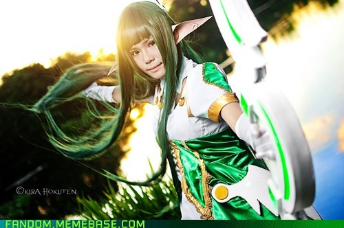 cosplay elsword rena video games - 5472708864