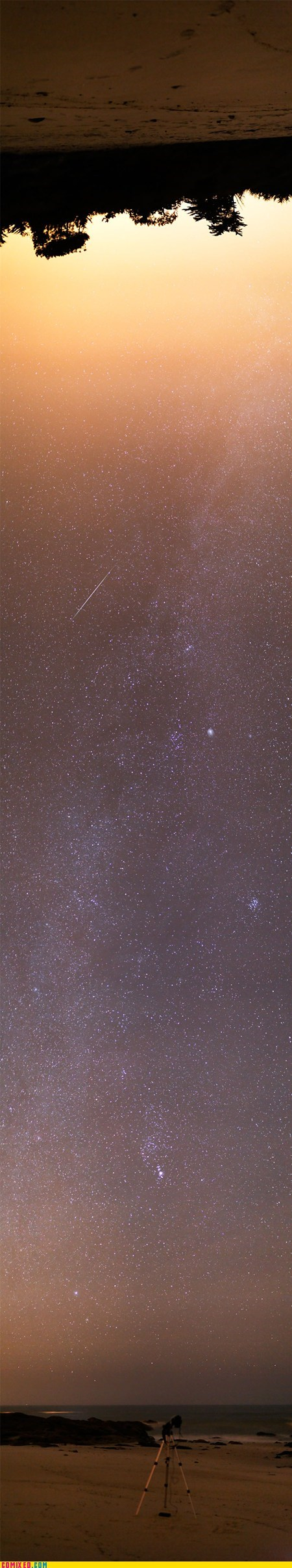amazing,Astronomy,flip,horizon,sky