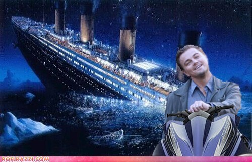 actor celeb funny leonardo dicaprio Movie shoop titanic - 5473551616