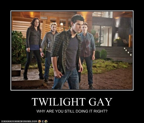 TWILIGHT GAY WHY ARE YOU STILL DOING IT RIGHT?