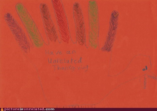 a memebase thanksgiving hand turkey - 5473990656