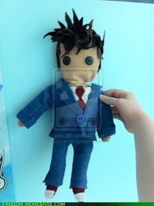cute doctor who Fan Art felt Plush - 5474227456