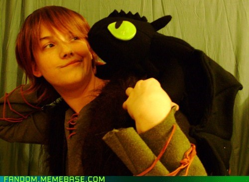 best of week cosplay dreamworks hiccup How to train your dragon toothless - 5474918912