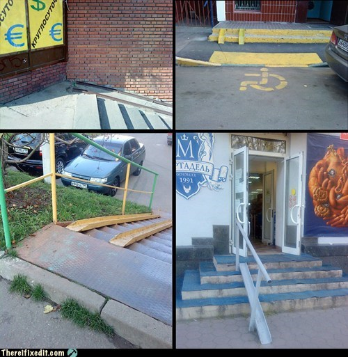 dual use Professional At Work wheelchair ramp - 5474990080