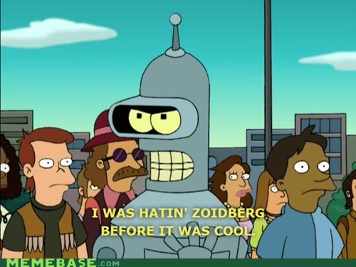 bender futurama hipster Why Not Zoidberg - 5475346944