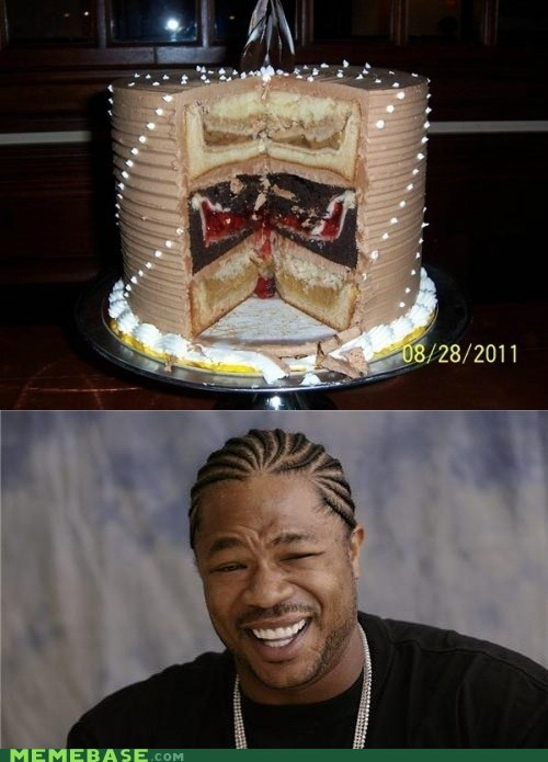 cakeception delicious food Inception yo dawg - 5475489280