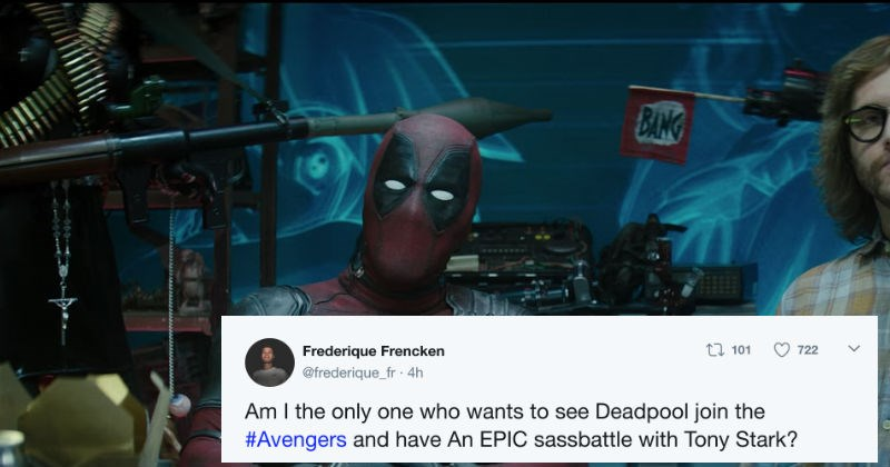 twitter news deadpool trolling xmen movies superheroes ryan reynolds funny - 5475589