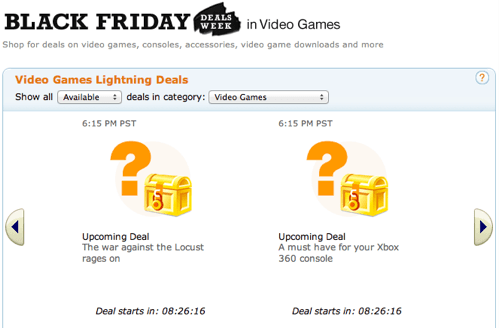 amazon,black friday,deals,gaming,sale,video games
