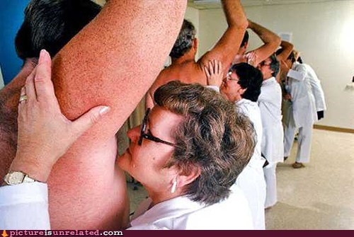 armpits doctors jobs strange wtf - 5476239104