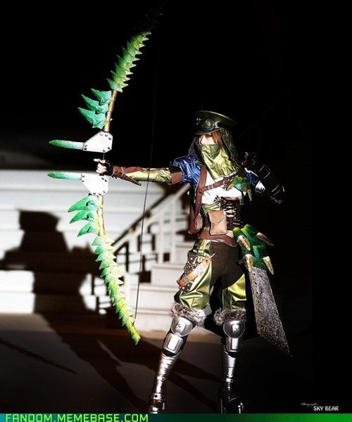 bow cosplay monster hunter video games - 5476561408
