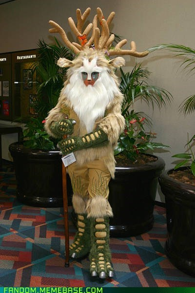 anime,best of week,cosplay,forest spirit,princess mononoke